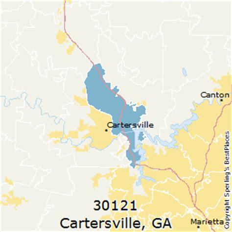 cartersville map best places to live in cartersville zip 30121