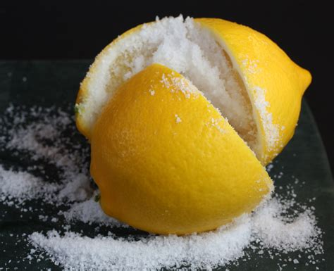the salty meyer lemons the salty food gal