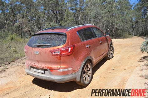 Kia Sportage Road Capability 2013 Kia Sportage Platinum Review Performancedrive