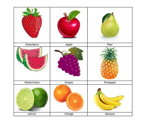 imagenes en ingles frutas webquest frutas en ingles