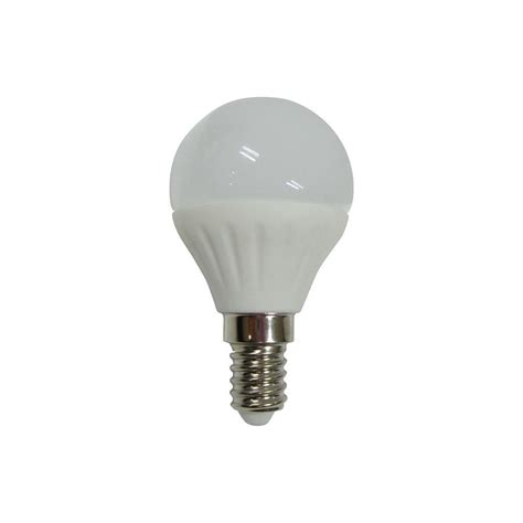 4 Watt E14 Small Edison Screw Led Golf Ball Light Bulb Small Led Light Bulbs