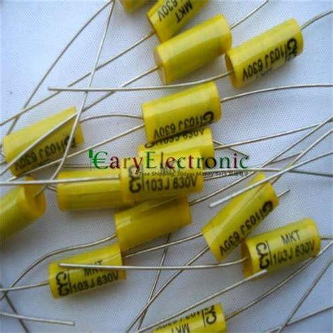 yellow capacitor 104 200 pcs capacitors 01 uf 28 images 200pcs 630v 0 001uf 2 2uf metal capacitors assortment kit