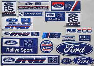 Ford Sticker Stickers Maximum Attack Rallying Relive The Greatest