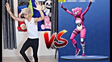 fortnite dance challenge  real life fortnite battle