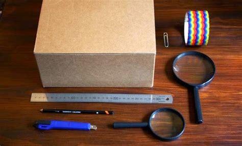 Proyektor Kardus cara membuat proyektor sederhana dengan handphone atau smartphone dwkonline
