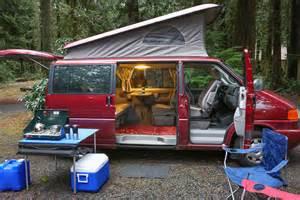 Pop Up Camper Curtains Campervans Road Trip Oregon Reliable Sprinter Eurovan