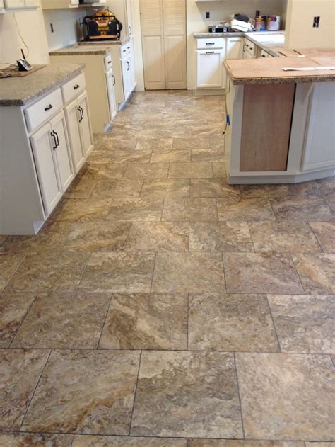 Precision Flooring by Luxury Vinyl Tile Recently Installed By Precision Flooring