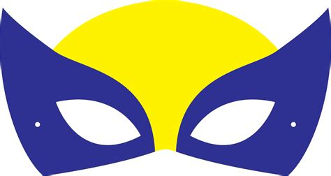 printable wolverine mask wolverine clipart mask pencil and in color wolverine