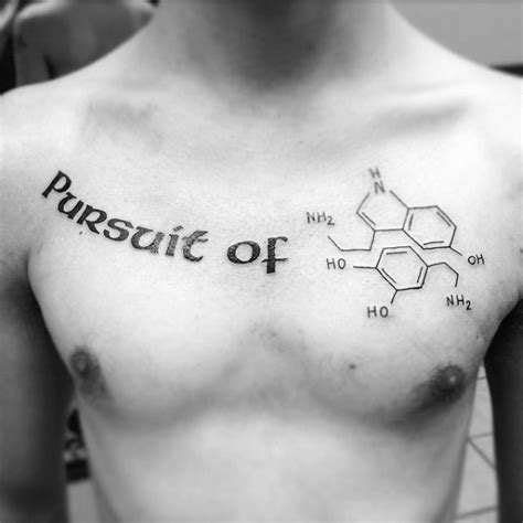 chemical structure tattoo 74 popular chemistry tattoos and ideas about science