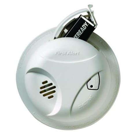 alert battery operated 10 year lithium smoke alarm