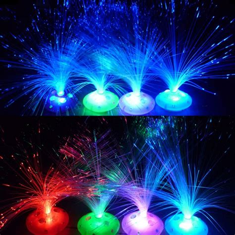 color changing led fiber optic night light l colorful