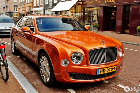 bentley mulsanne speed orange bentley mulsanne speed 2015 13 february 2016 autogespot