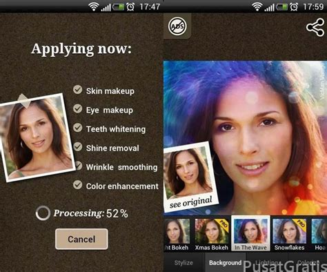 Aplikasi Eyeshadow Wardah Seri A 5 aplikasi make up wajah gratis untuk android pusat gratis