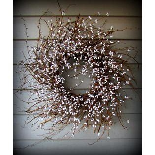 primitive home decor and more primitive home decor and more wreaths white pip berry