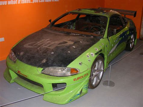mitsubishi eclipse the fast and the furious mitsubishi eclipse from the the fast and the furious