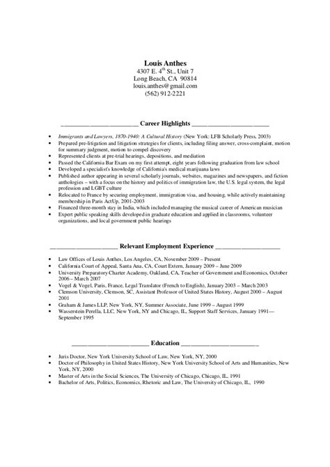 Job Application Resume Download by La Resume