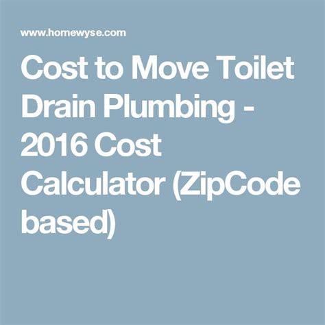 Move Bathroom Plumbing Cost 17 Best Ideas About Toilet Drain On Linear