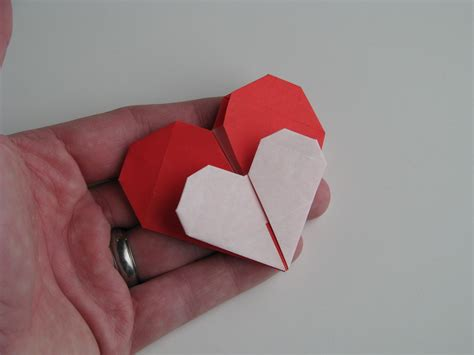 Origami For Valentines - stephen s origami origami hearts