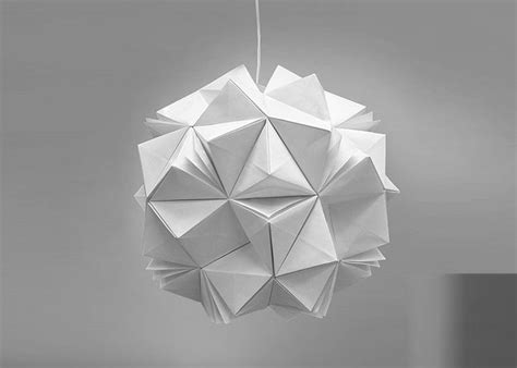 Origami Materials - jiangmei wu creates beautiful origami inspired pendant