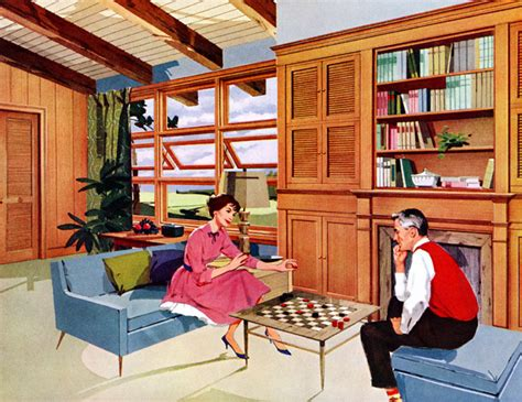 plan59 retro 1940s 1950s decor furniture american