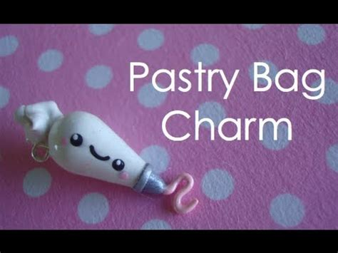How To Make A Pastry Bag Out Of Wax Paper - pastry bag charm tutorial