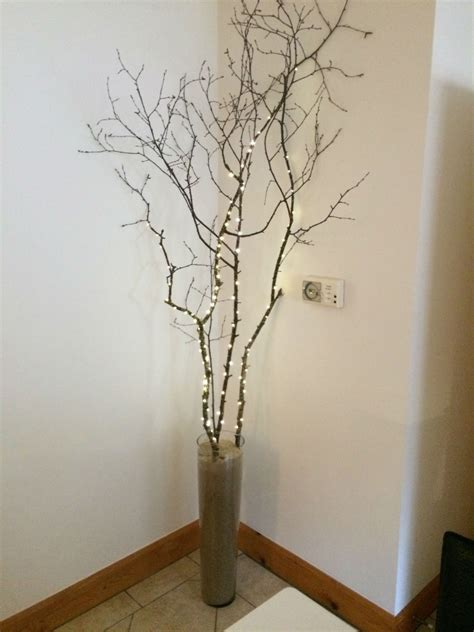 Tree Branch Decorations In The Home Diy Tree Branch Feature For My Kitchen Homeware Ireland