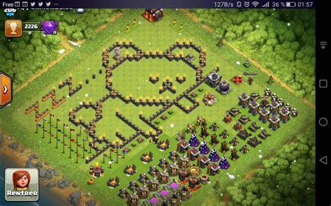 coc layout funny les villages les plus funs clash of clans papys warriors
