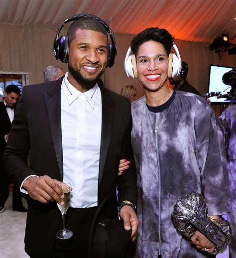 Exclusive Details Usher To Wed Fiancee Tameka Foster On Saturday by Usher Engaged To Longtime And Business Partner