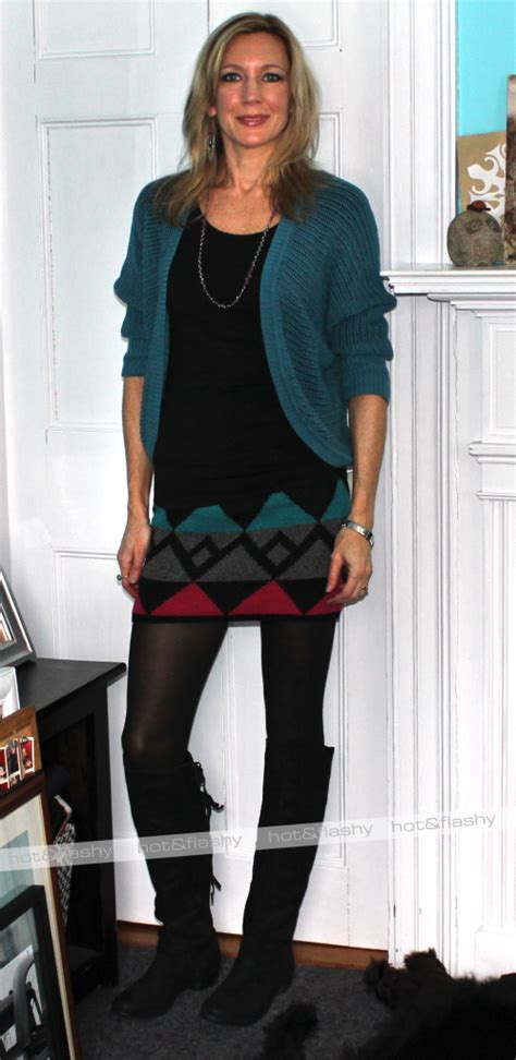 ootd skirt with boots