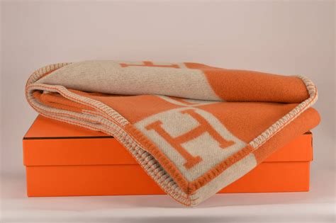 the hermes avalon blanket hermes avalon blanket couch beige orange 2015 at 1stdibs