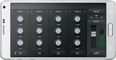 layout app samsung samsung soundcamp app ui design