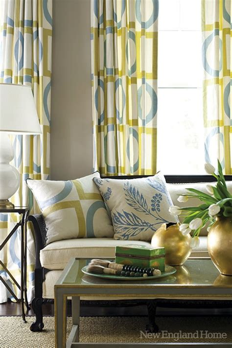 Geometric window panels contemporary living room new england