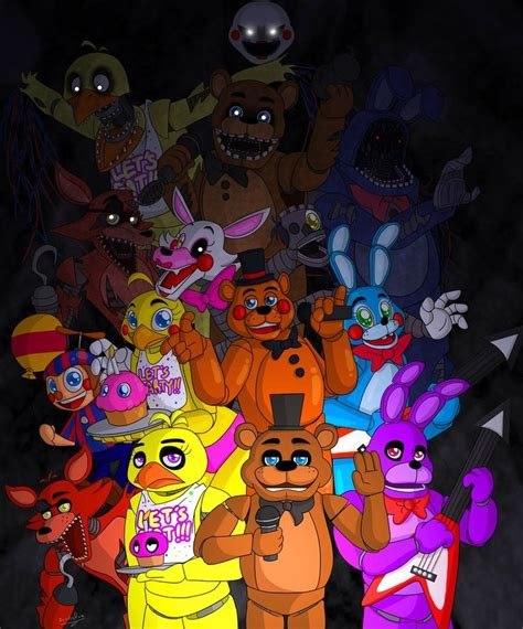 1370 best images about five nights at freddys on