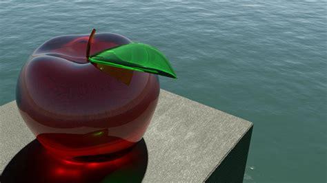 wallpaper apple glass download apple glass 3d wallpaper