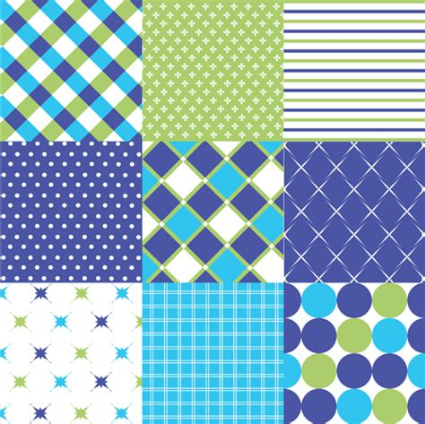 fabric pattern download beautiful fabric patterns vector material 04 vector
