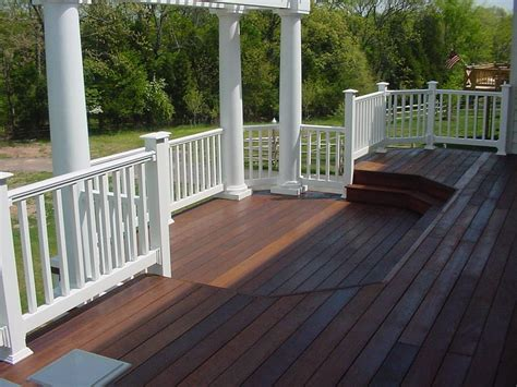 Patio Railings Designs by Building Plans For Deck Railing Find House Plans