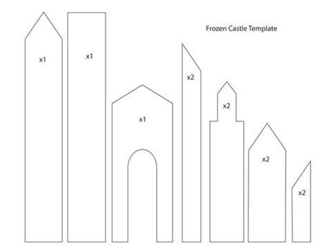 frozen castle template google search cake decorating