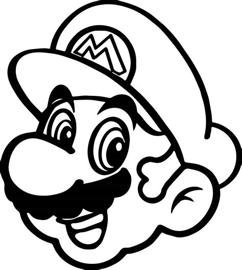 super mario coloring pages coloringsuite