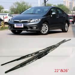 2009 honda civic windshield wiper size