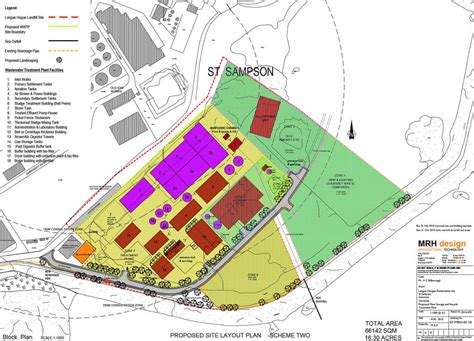 plant layout proposal a proposal for organic waste and wastewater treatment on