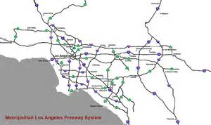 map of southern california freeway system city with best freeway system in america california