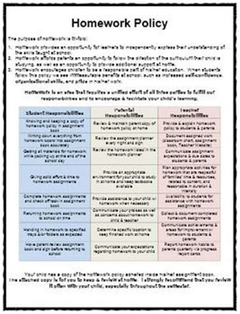 social media policy template for schools best 25 homework policy ideas on