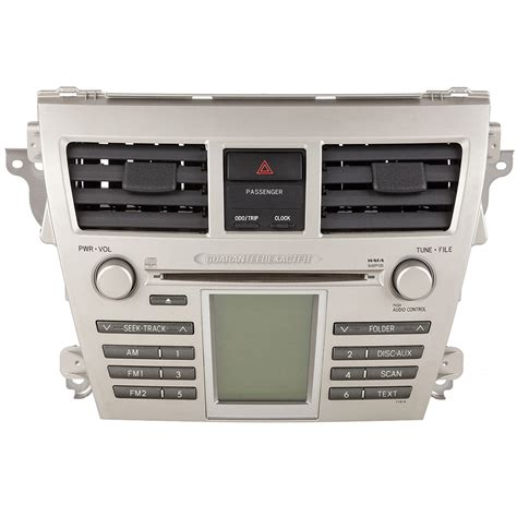Toyota Radio Parts Toyota Yaris Radio Or Cd Player