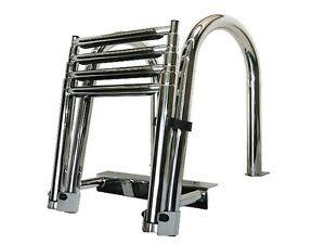 boat ladder parts accessories buy pontoon boat ladder ebay