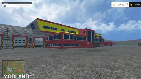Warehouse Ls by Logistics Center V 2 2 Placeable Mod For Farming Simulator