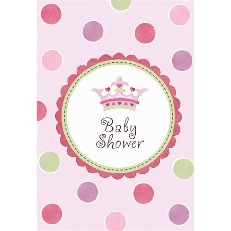 little princess baby shower invitations from all you