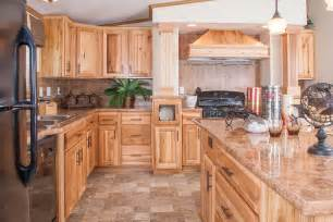 image of hickory kitchen cabinets design ideas
