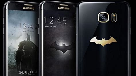 batman wallpaper galaxy s6 samsung unveils batman themed s7 edge injustice edition