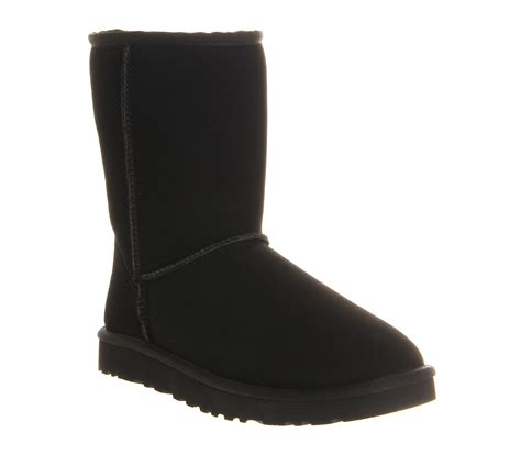 ugg black boots ugg australia classic ugg boot black suede boots