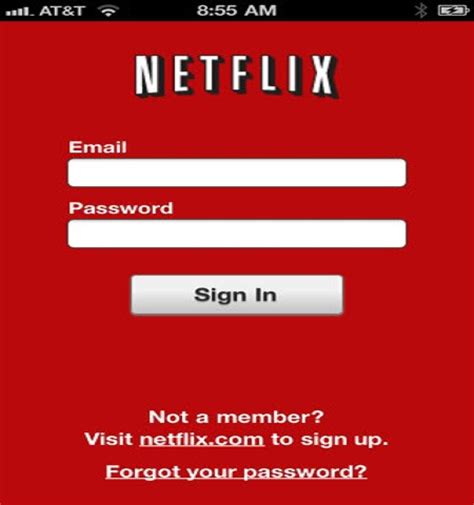how to make a netflix account without a credit card netflix on your iphone or iphone touch without a